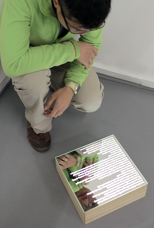 Object self - mirror surface
